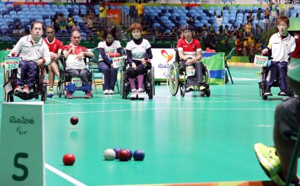リオデジャネイロ大会で日本は団体銀メダルを獲得した(2016年9月)