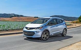 GMが発売する新型電気自動車「シボレー・ボルトEV」