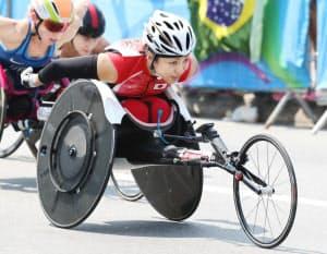 リオでマラソンだけに出場を絞った、土田は惜しくも4位に終わった=寺沢将幸撮影