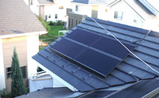 日本エコシステムは自宅の太陽光発電設備が電源となる