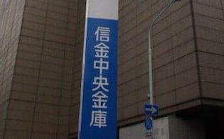 「一枚岩」を誇る業界だが…(信金中金が入るビル、東京都中央区)