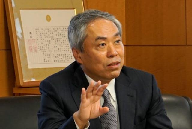 虎ノ門の再開発プロジェクトについて語る森ビルの辻慎吾社長