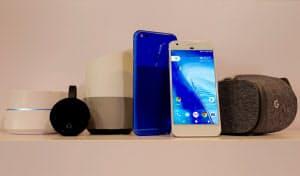 グーグルは4日、スマホやスマートスピーカーなど各種ハードウエアの新製品を発表した