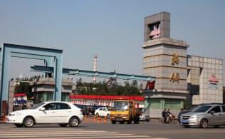 中国の鉄鋼大手は過剰生産の抑制を迫られている(遼寧省鞍山の鞍山鋼鉄)