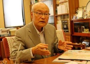 がんこフードサービスの小嶋淳司会長
