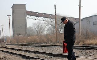 設備過剰で炭鉱の街はさびれている(遼寧省)