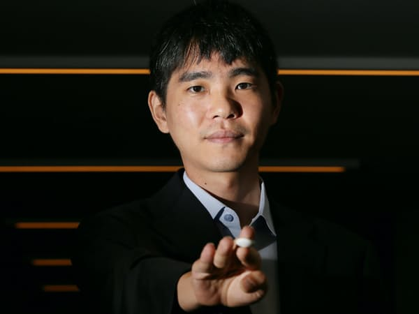 世界トップ級プロ棋士、韓国のイ・セドル九段(東京都千代田区)