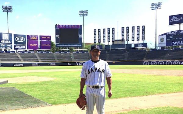 中日2軍投手コーチの大塚氏はU-23日本代表のコーチとして投手陣をまとめた