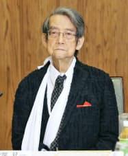 上智大の渡部昇一名誉教授(14日午後、首相官邸)