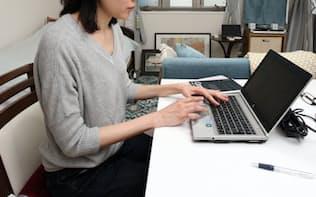 働き方改革の進展を受け広がる在宅勤務