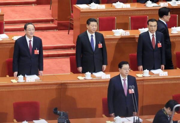 中国で国会に相当する全国人民代表大会(全人代)の延期が議論される=写真 小高顕