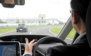 高速道路の単一路線で自動走行が可能な新機能「プロパイロット」を初めて搭載した