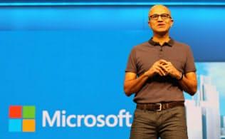 マイクロソフトをクラウドの会社に転換したナデラCEO