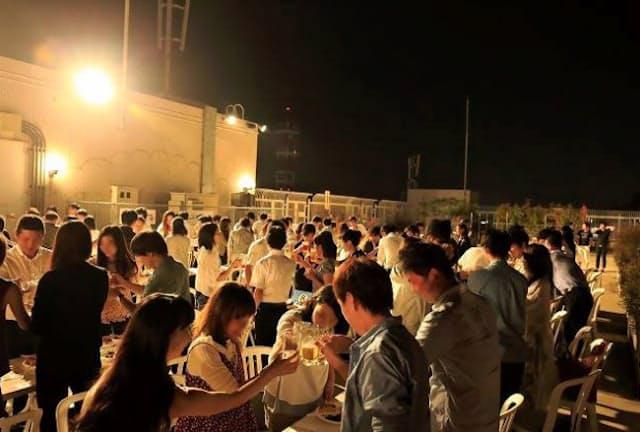 B-withが9月に開いた婚活イベントには120人が集まった(広島県福山市)=一部画像処理しています