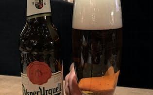 買収するチェコの「ピルスナーウルケル」は欧州を中心に人気の高いブランドだ