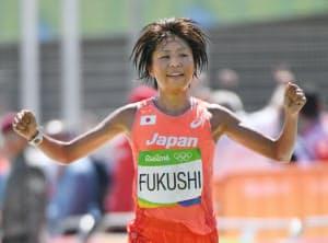 リオ五輪の女子マラソンでは福士の14位が最高だった