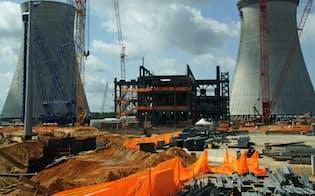 ウエスチングハウス(WH)が原子炉を供給するボーグル原子力発電所の3、4号機(ジョージア州)