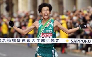 箱根駅伝では学生たちの頑張りが出場校のブランド力をアップさせている