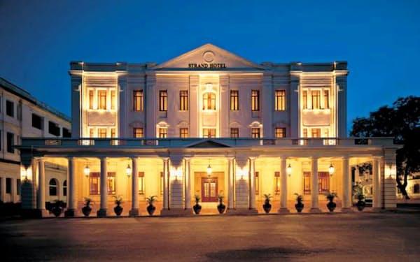 歴史的な品格を維持し、最新の設備を備えるよう改装したストランドホテル(同ホテル提供)