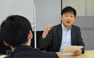 「プロ人事」の曽和利光さんが就活生に会って悩みを聞きます