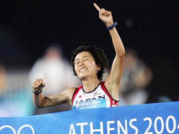 アテネ五輪優勝の野口には、世界一練習をしたという自信があった