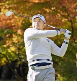 小平は昨季、賞金ランク自己最高の6位も「物足りない」。複数回優勝を目標に掲げる=共同