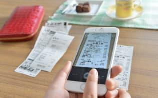 家計簿アプリの強みは、支出を費目別に自動集計をする機能だ