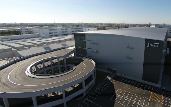 投資余力の大きい物流REITは多い(千葉県八千代市の日本ロジの物流センター)