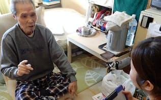 管理栄養士が低栄養の高齢者を訪問して改善を指導(神奈川県大和市)