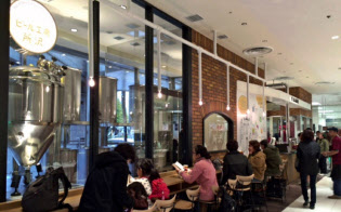 西武所沢店は店内でクラフトビールを醸造する