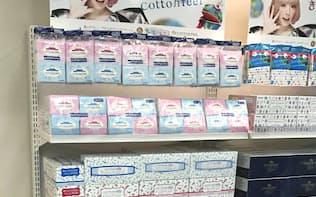 日清紡HDは「コットンフィール」などのブランド名で紙事業を展開している