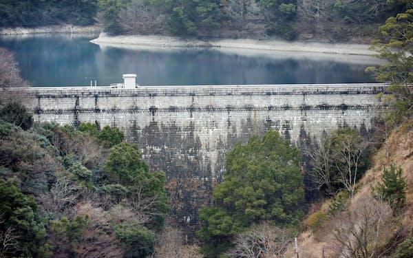 建設当時は国内最大級のダムだった