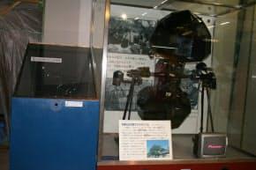「和歌山天文館」で使われていたプラネタリウムの投影機(和歌山市立こども科学館)