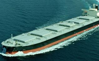 大型ばら積み船の用船料は上昇に転じた