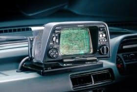 ホンダが1981年に世界で初めて製品化したカーナビゲーションシステム「ホンダ・エレクトロ・ジャイロケータ」