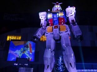 5日夜にクロージングセレモニーを開いた(東京都江東区)