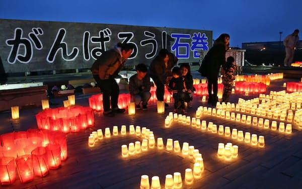 11日には被災各地で追悼行事が予定されている(写真は昨年)