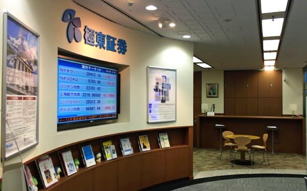 極東証券は高利回り債券に経営資源を集中する(東京・新宿区)