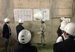 16年6月の下水処理場の現地見学会