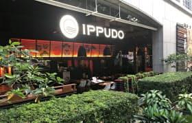 海外ではレストラン形式の店舗も少なくない(シンガポールのモハメドサルタン店)