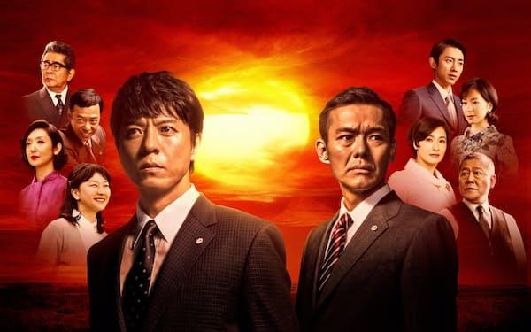 オリジナルドラマが好評でWOWOWの加入件数は伸びている(昨年放送した「沈まぬ太陽」)