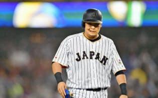 日本代表は筒香、中田ら核となる選手をなるべく固定し、結束力で勝負しようとした=共同