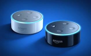 音声認識アシスタント「アレクサ」を搭載した「アマゾンエコー」は米国で数百万台が売れる大ヒット商品になっている