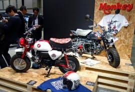 ホンダは8月末でミニバイク「モンキー」の生産を終了すると発表した