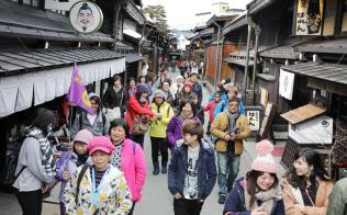 岐阜県高山市を訪れた外国人観光客(3月)