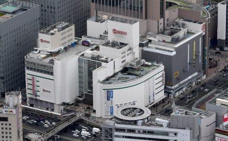 そごう神戸店は、かつて売上高1000億円超を誇る地域一番店だった(神戸市中央区)