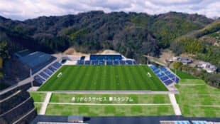 8月に完成する5000人収容のスタジアム(イメージ図)
