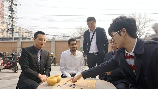 グーグルの囲碁AI、「最強」プロ棋士と5月対局