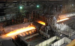 鉄鋼生産は持ち直しが鮮明