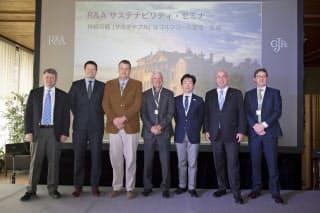 3月13日に横浜カントリークラブでR&AとJGAがセミナーを共催した